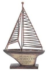 He Shall Direct Your Paths Sailboat, Small