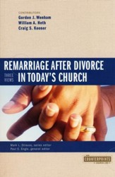 Remarriage After Divorce in Today's Church: 3 Views  - Slightly Imperfect