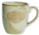 Friend, Song of My Heart--Stoneware Mug