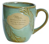 Mom, Heartbeat Of the Home Mug