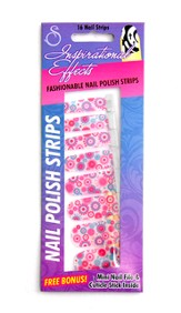 Faith, Hope, Love Flowers Nail Strip