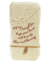 A Daughter Hugs Your Heart Tabletop Plaque