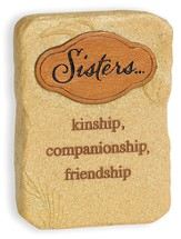 Sisters, Kinship, Companionship, Friendship Tabletop Plaque