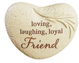 Loving, Laughing, Loyal Friend Magnet