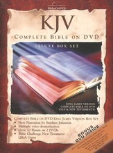 KJV Complete Bible on DVD, Deluxe Edition  - Slightly Imperfect