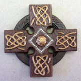Irish Celtic Cross Magnet