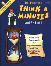 Think A Minutes, Level A Book 1