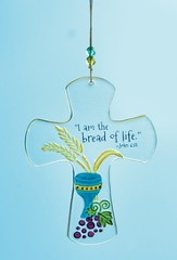 I Am the Bread of Life Hanging Cross