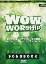 WOW Worship (Lime) Songbook