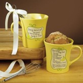 Going Bananas, Hang In There Mug with Whisk