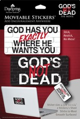 God's Not Dead Stickers