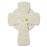 Irish Baptism Wall Cross