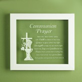 Communion Prayer Wall Plaque