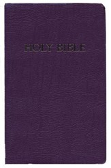 KJV Gift & Award Bible, Imitation leather, Royal purple