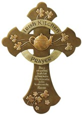 An Irish Kitchen Prayer Wall Cross