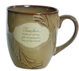 Teacher, Heart Of Caring Mug