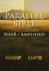 Amplified & NASB Parallel Bible Hardcover