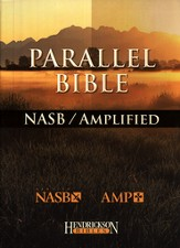 The NASB/Amplified Parallel Bible--bonded leather, black