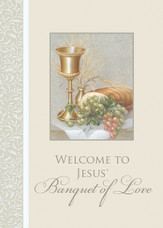First Communion Cards, Welcome to the Banquet, Pack of 6