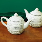 Irish Knit Teapot
