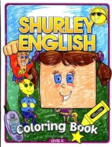 Shurley English Coloring Book Level K