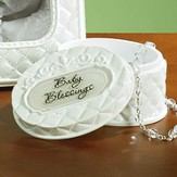 Baby Blessings, Baptism Trinket Box