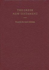 The Greek New Testament (UBS4) - Slightly Imperfect