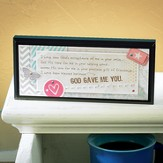 God Gave Me You Tabletop Plaque