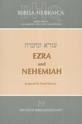 Biblia Hebraica Quinta: Ezra & Nehemiah  - Slightly Imperfect