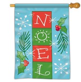 Noel, Blocks Flag, Large