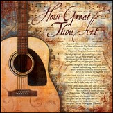 How Great Thou Art Mounted Print