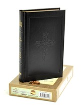 KJV 1611 Bible, Deluxe Edition, Genuine Leather  Hardcover, Black