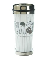 Baseball, Always Take the Time To Pray Travel Mug
