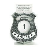 Police, Hats Off To Our Officers Perpetual Calendar