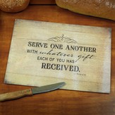 Serve One Another Cutting Board