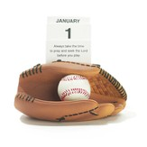 Baseball, Always Take the Time To Pray Perpetual Calendar