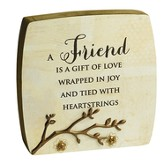 Friend, Blessing Branches Plaque