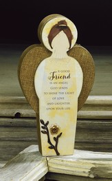 Friend, Blessing Angel Plaque