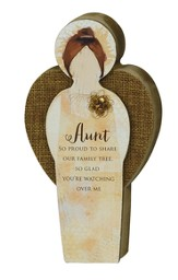Aunt Blessing, Angel Plaque