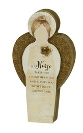Nurse Blessing Angel Plaque