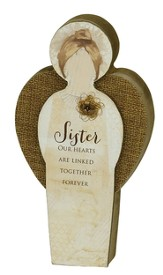 Sister Blessing Angel Plaque