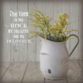 The Lord Is My Rock, Mini Plaque