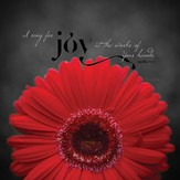 I Sing For Joy, Mini Plaque