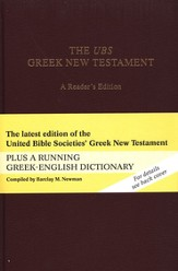 The UBS Greek New Testament, A Reader's Edition