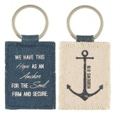 Anchor Your Faith Keyring