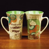 Coffee and Prayer Latte Mug