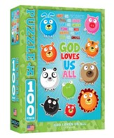 God Loves Us All Puzzle, 100 Pc.