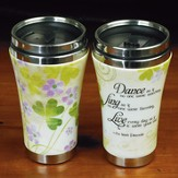 Dance, Sing, Live, Travel Mug