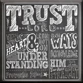 Trust In the Lord, Canvas Wall Art