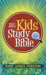 KJV Kids Study Bible, Hardcover edition - Slightly Imperfect